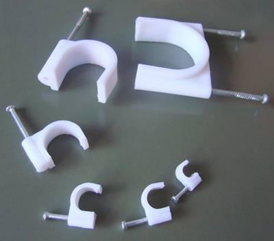 cirle cable clip