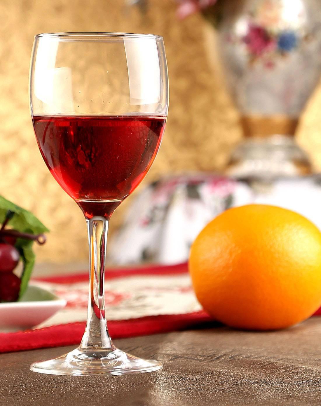 New fashion glassware handmade crystal wine glass