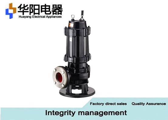 WQ Series Sewage Water Pump 220V For Municipal Engineering , 0.37-7.5KW