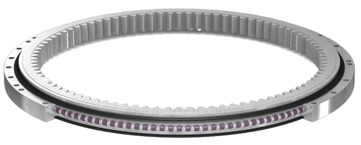 Single Row Slewing Ring with gears