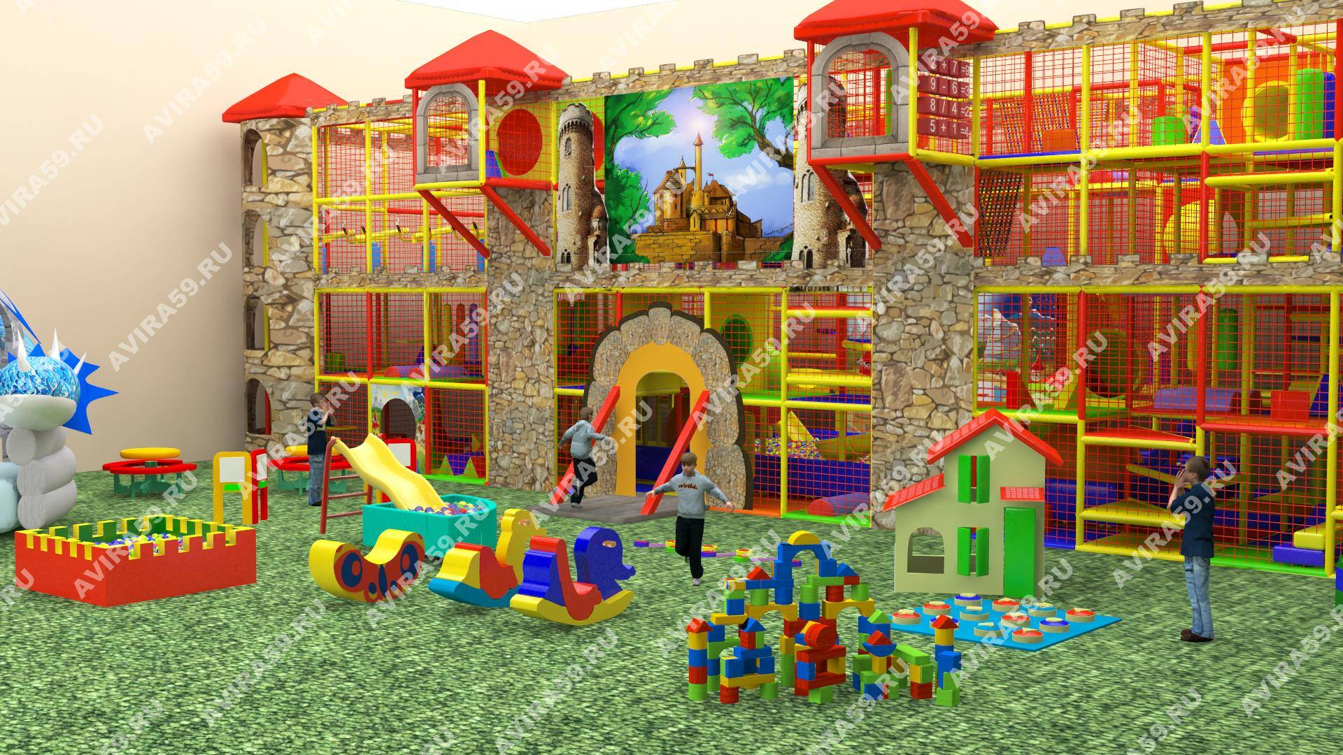 Indoor playground Magic Castle