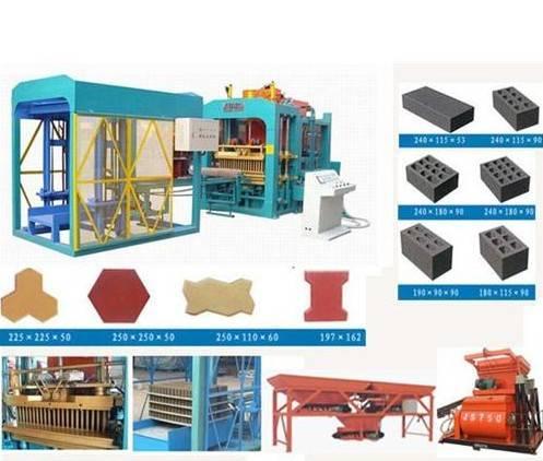 Automatic Brick Making machine Production Line