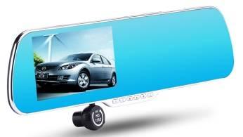 Dual channel Dashboard camera, GPS and Bluetooth supported