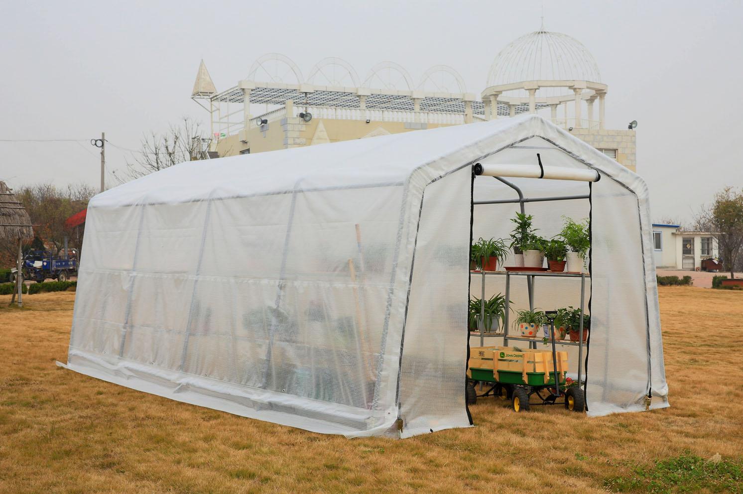 Portable Garden Green House 10'x20' with UV protection