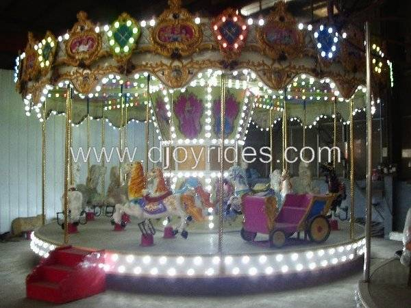 2014 new indoor merry go round kiddie rides