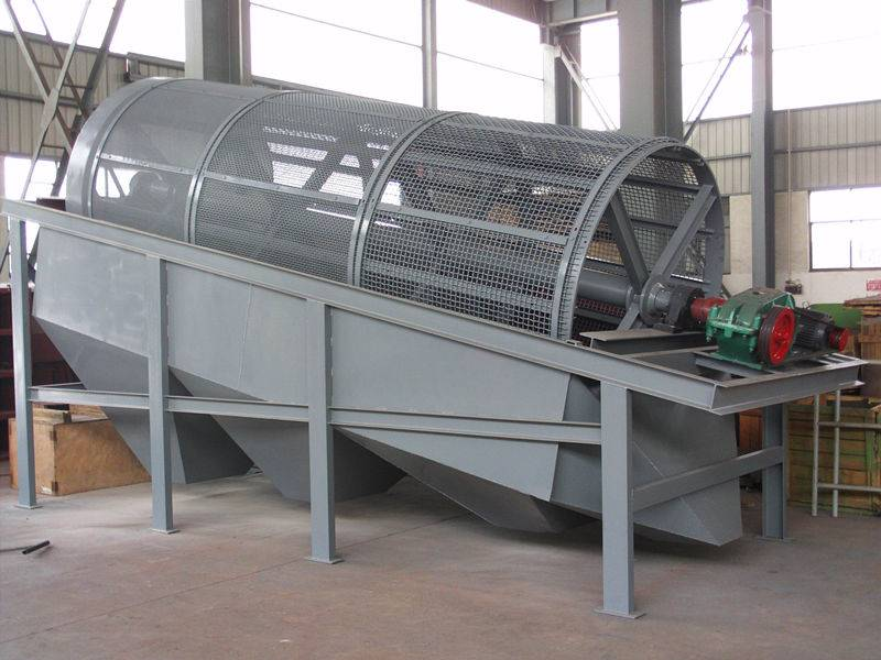 Drum Vibrating Sifter