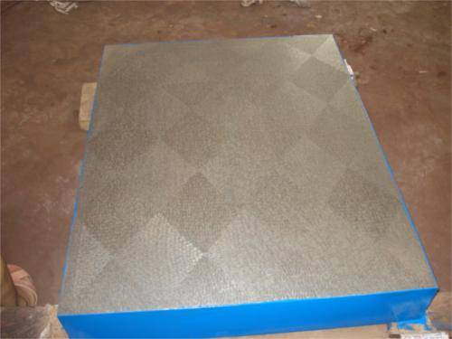 Precision machine level Inspection Cast Iron Surface Table