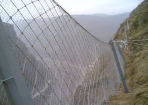 SNS Active slope protective system/netting/mesh