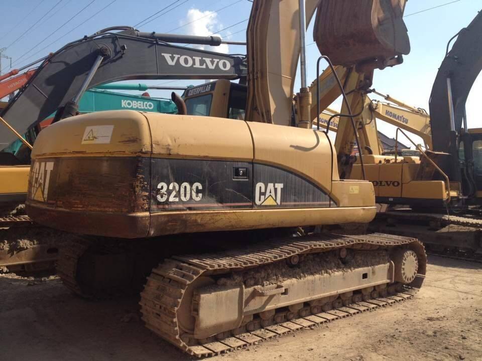 caterpillar  excavators CAT 320C crawler excavators