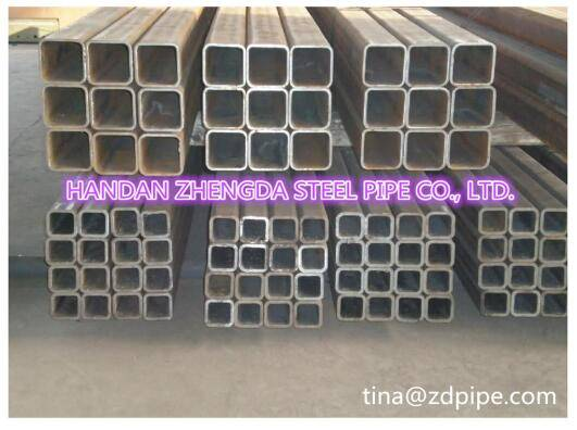 ERW square steel tube/tube hollow sections