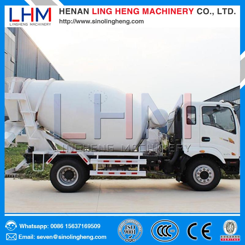Ling heng manufacturer concrete mixing truck concrete mixer concrete mixing plant for sale