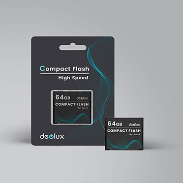 CompactFlash CF Card Made by grade A flash chip