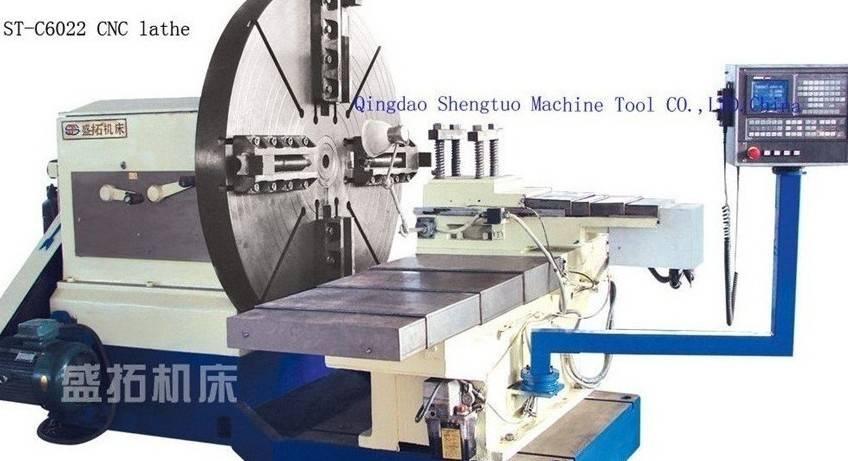CNC lathe machine/ CNC flange lathe/ CNC facing lathe