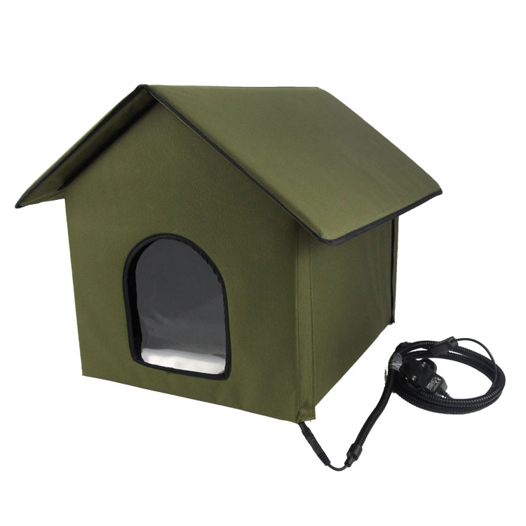 wholesale heated pet house for small animals heated cat house heated dog house