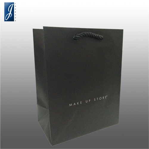 Customized small shopping paper bag for MAKE UP