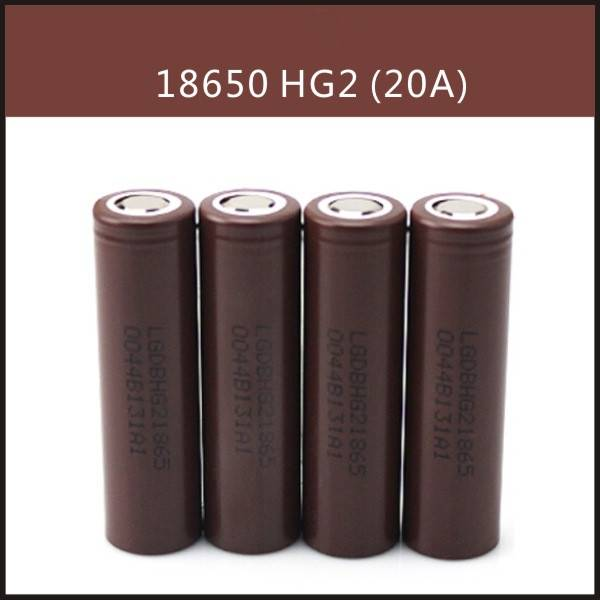 Original LGabc HG2 18650 li-ion 3.7v 3000mah battery cells for vape