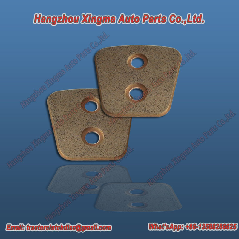 Sintered Metallic Materials Bronze Base Clutch Buttons