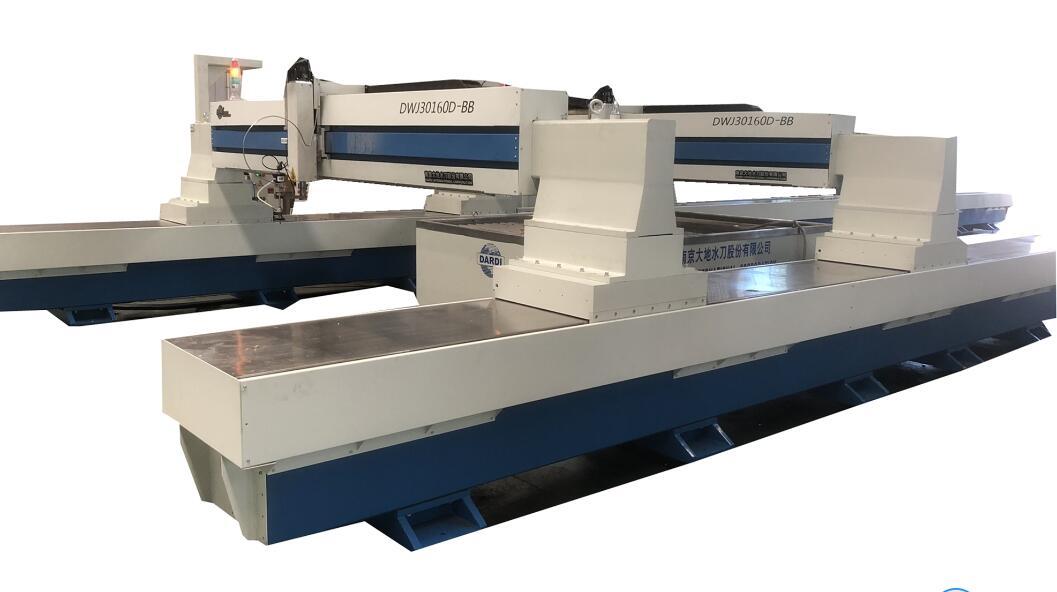 DWJ30160D-BB 3m16m Waterjet Cutting Machine