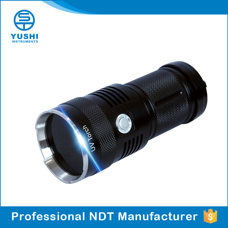 ndt inspection lamp handheld blacklight 365nm led uv light flashlight
