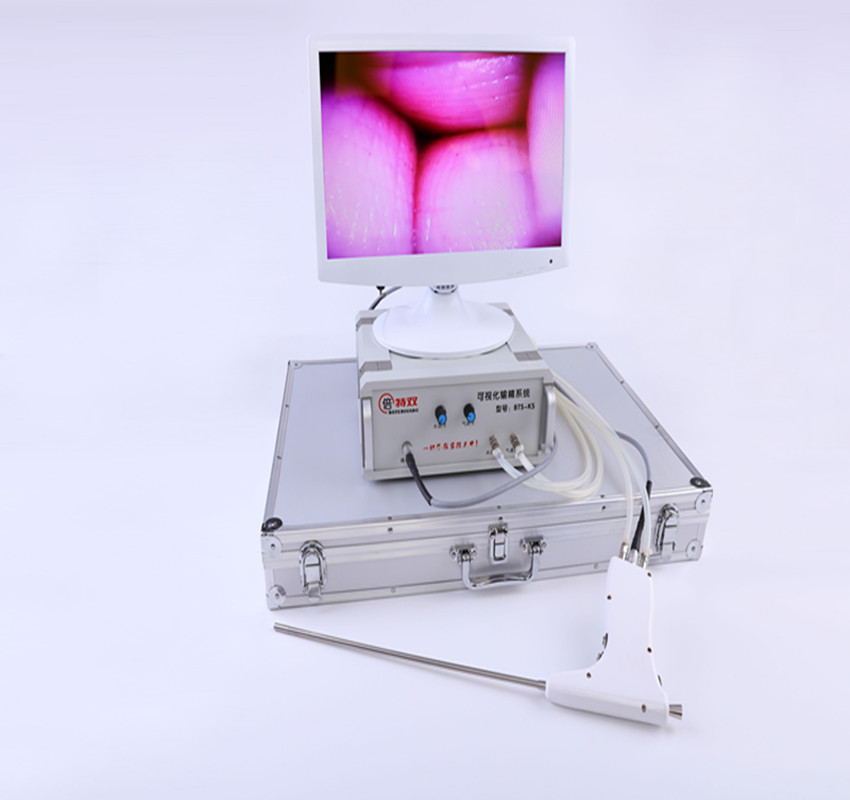 table visual insemination system