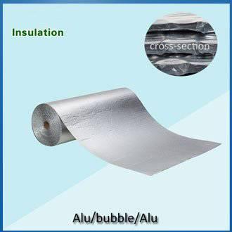double side aluminum foil bubble insulation