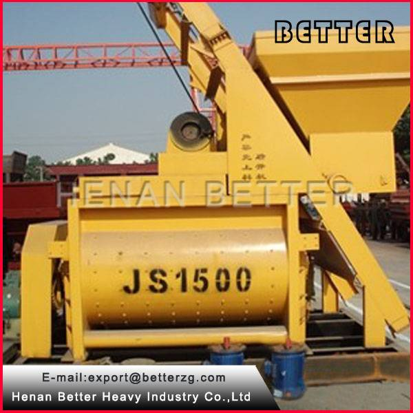 JS1500 used concrete mixer for sale
