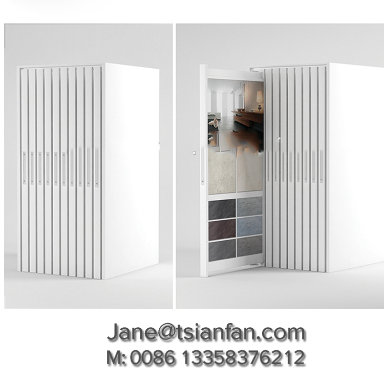 Artificial Marble Showroom Display Cabinets-S084