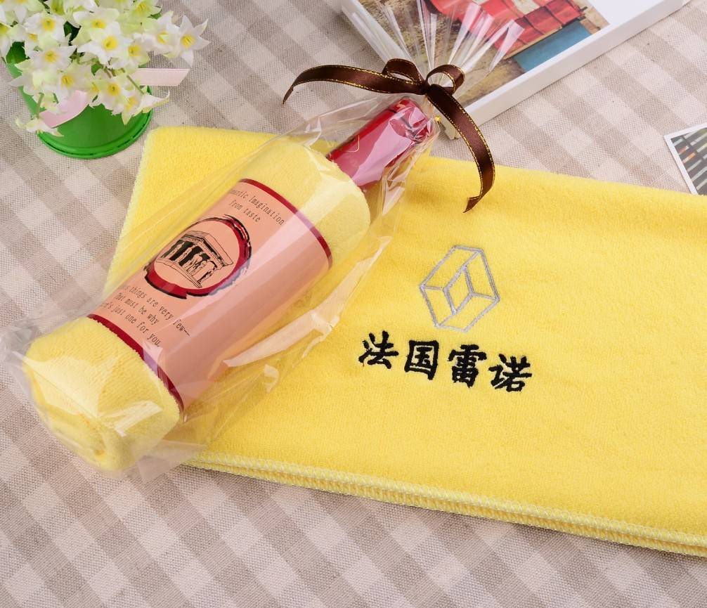 Special customized promotional gift towel