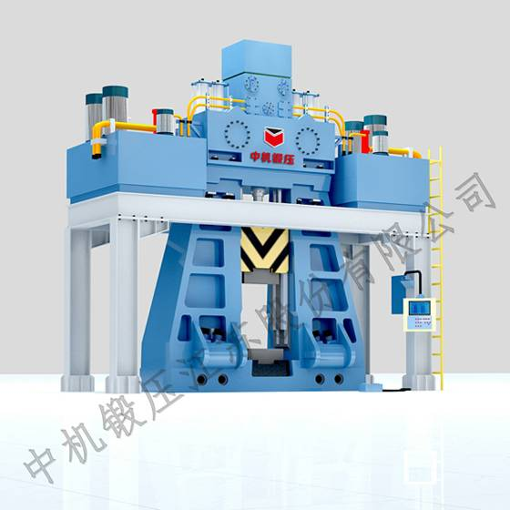 CT88K CNC fully hydraulic die forging hammer