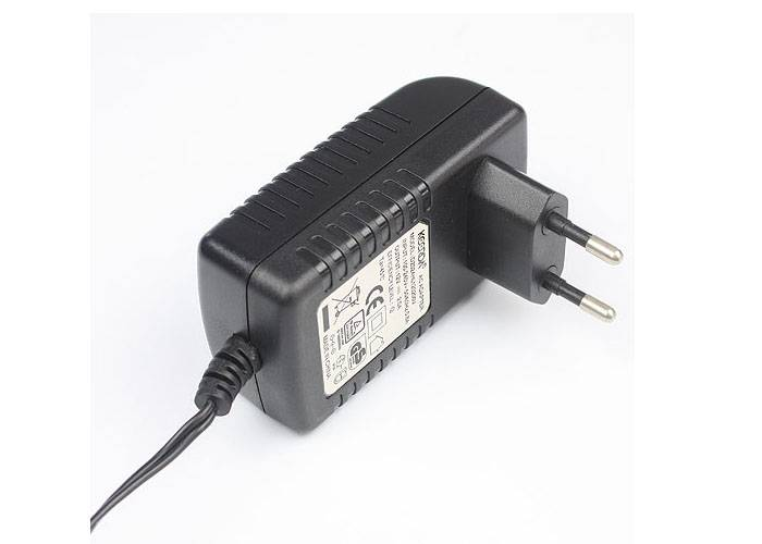 Black Korea Plug  12V 2A  AC  Switching Power Adapter For LED Lighten With KC Approval
