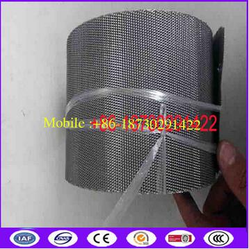 SS 302 130 MESH metal filter mesh band used in non stop Screen Changers