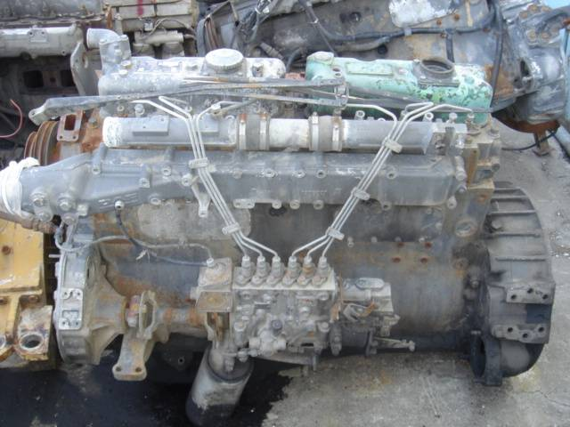 Uncompleted DAF engines