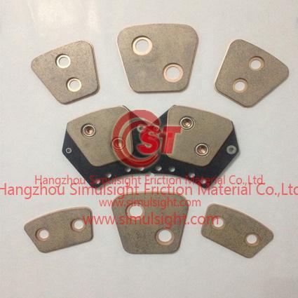 Copper Sintered Clutch Button