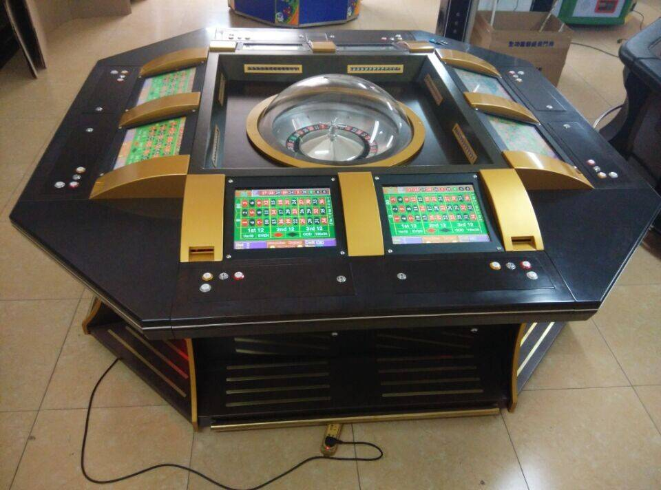 Mantong factory high quality best price gambling roulette machine for 8 players MT-GA025