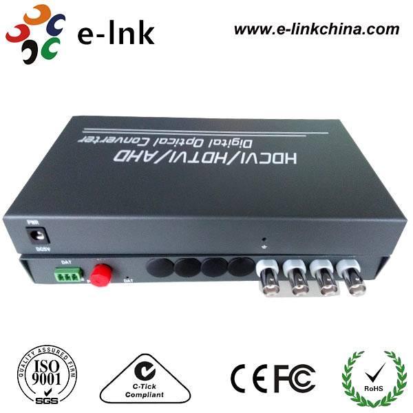 HDTVI to Fiber Converter