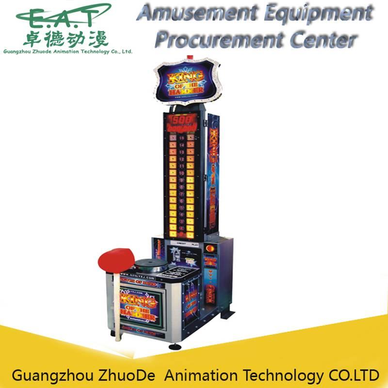 King of hammer,smart hammer simulator game machine
