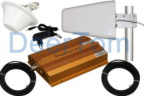 Mobile Phone Cellphone GSM Signal Repeater Booster Amplifier System