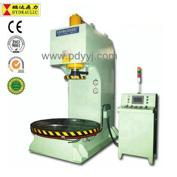 Pengda low power consumption single column hydraulic press machine