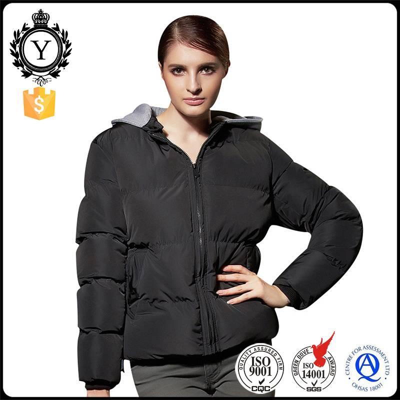 2016 COUTUDI best sale ultra warm insulated high quality lolita hoodie black winter coat