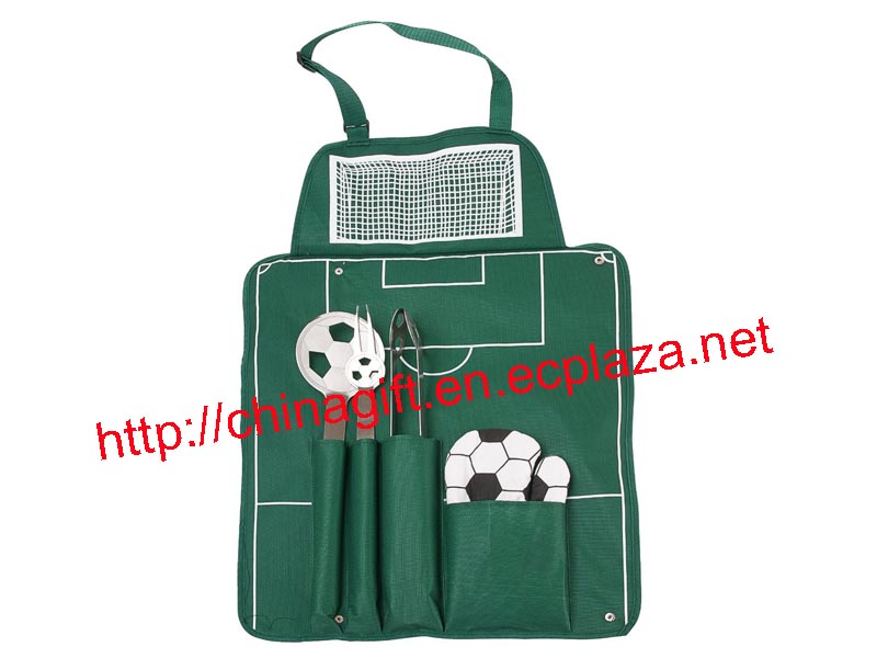 Soccer / Football BBQ Set