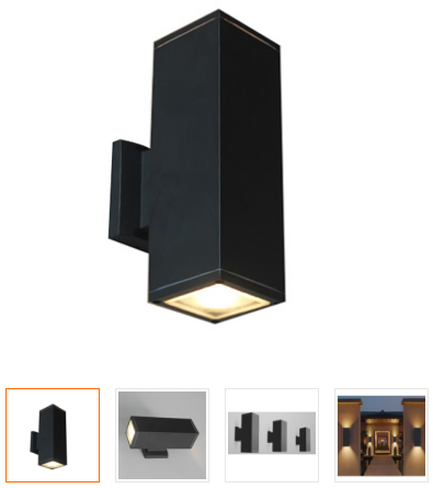 led outdoor wall sconce