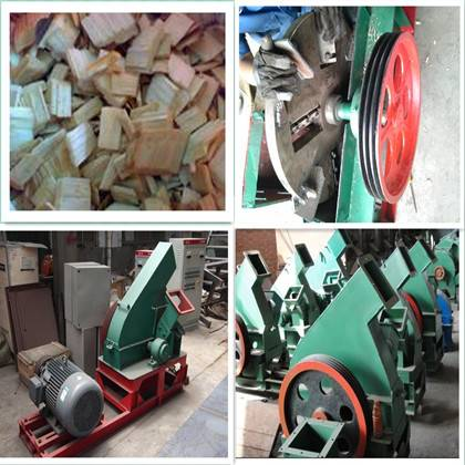 High quality automatic wood chipper machiner for industry