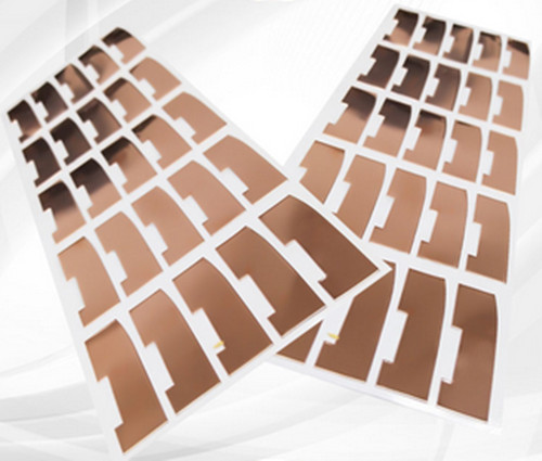 Manufacturer Die-cutting Flexible Copper Foil Adhesive Tape for Clad Laminate Insulation Sheet