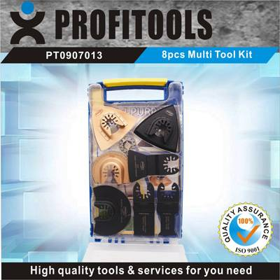 8pcs Multi-tool Blades Set for Tradesman and Household