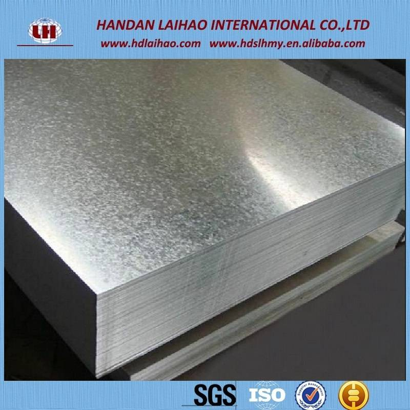 SGCC steel flat plate galvanized plain sheet