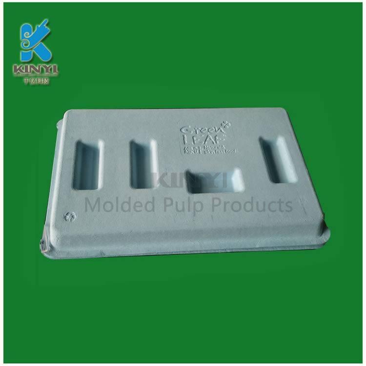Custom high grade bagasse pulp cosmetic packaging boxes