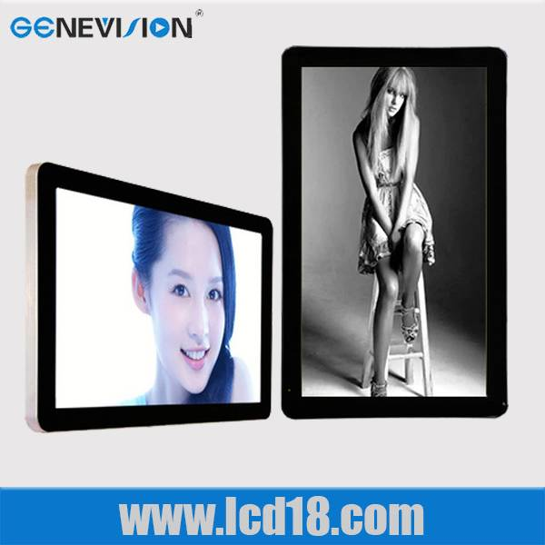 19 Inch Wall Mount LCD Advertising Player With Indoor Application