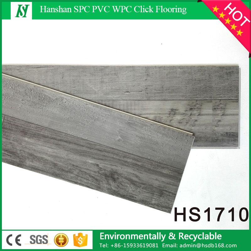 Han Shan UV coating Surface Treatment and Plastic Flooring Type PVC vinyl flooring