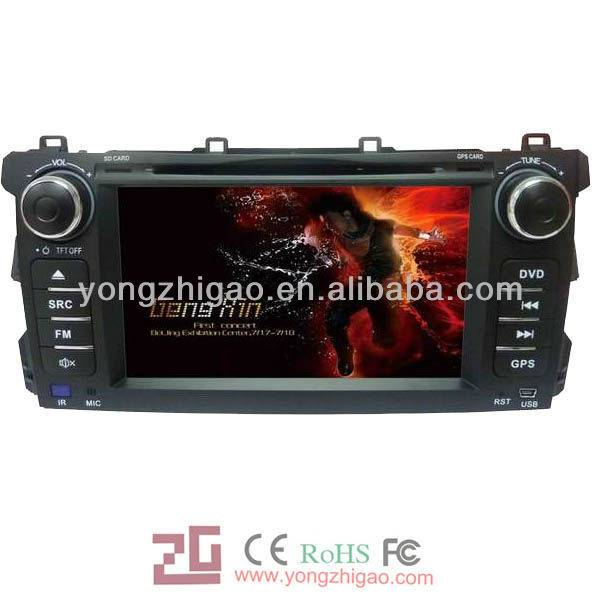"7"" car dvd gps navigation for BYD-G3 with entertainment function"