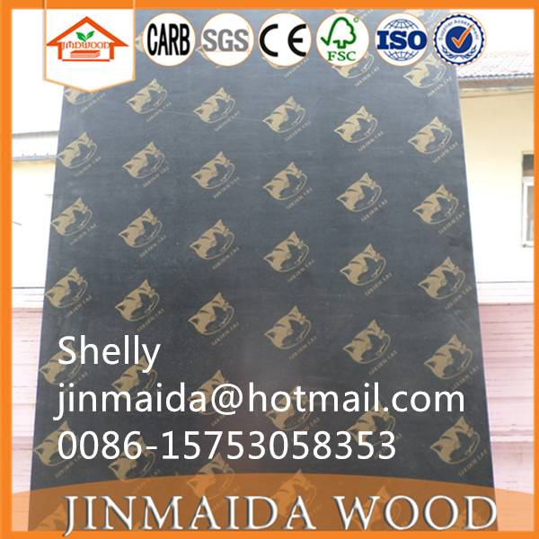 1220244018mm brown film faced plywood for construction